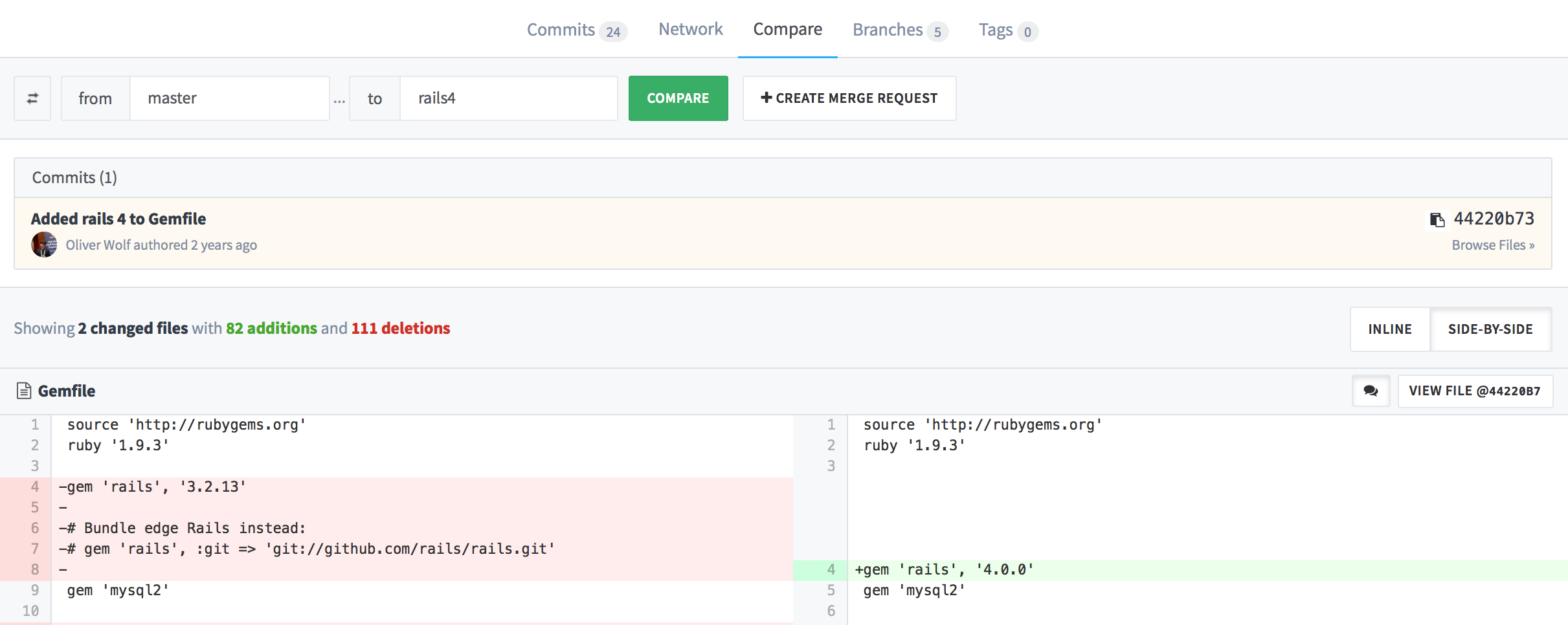anynines_gitlab_commits_compare_side_by_side
