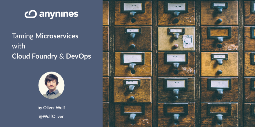 Taming Microservices with Cloud Foundry and DevOps Header Graphic