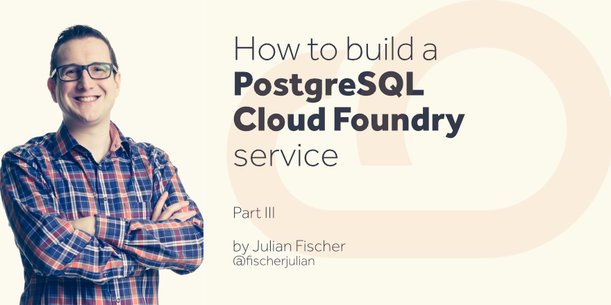 PostgreSQL Cloud Foundry Service