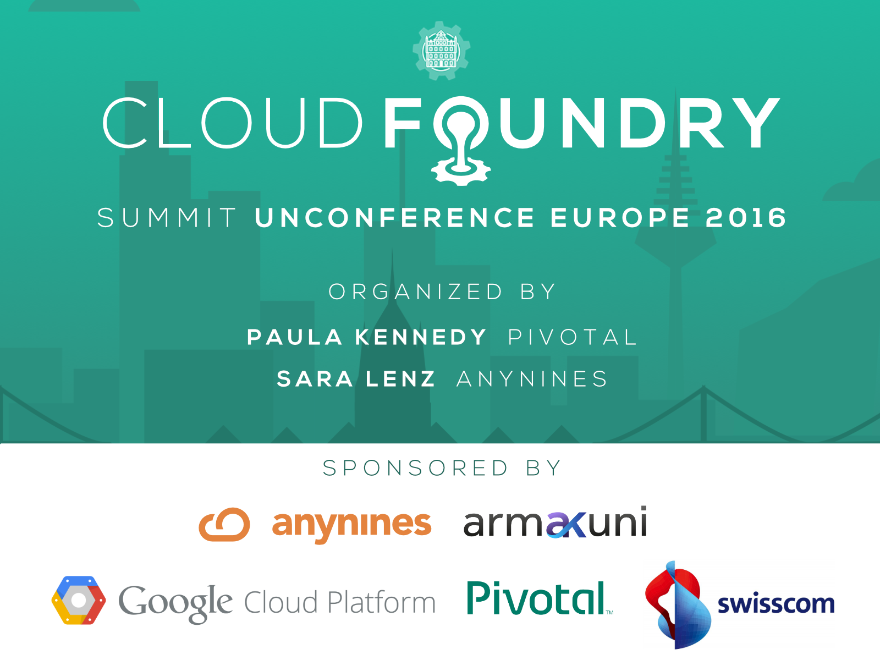 Cloud Foundry Unconference 2016 Frankfurt