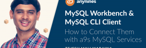 MySQL Workbench and MySQL CLI Client - How to connect them with a9s MySQL Services Blogpost Header