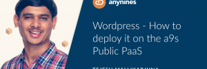 Header Graphic - Blogpost | Wordpress - deploy it on a9s Public PaaS