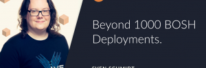 Article Header Image Beyond 1000 BOSH Deployments by Sven Schmidt