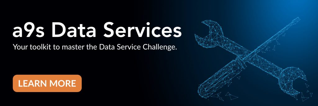 Banner of a9s Data Services