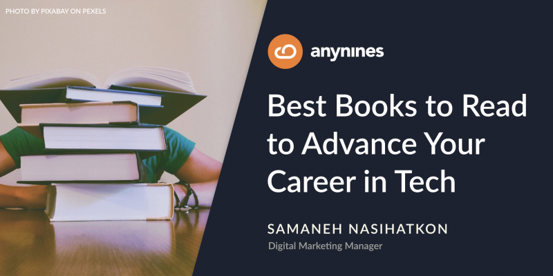 Best Books to Read to Advance Your Career in Tech